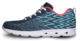 Blue sports shoes PUNCHY - NBLC6859