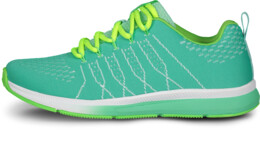 Green sports shoes VELVETY - NBLC6863