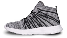 Šedé športové topánky BRAZEN - NBLC6864