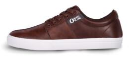 Men's brown leather shoes ARISE - NBLC6876