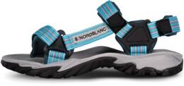 Modré dámské outdoorové sandály WELLY - NBSS6878