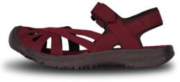 Vínové dámské outdoorové sandály GLARY - NBSS6881