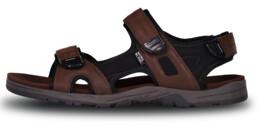 Hnedé pánske sandále THONG - NBSS6882
