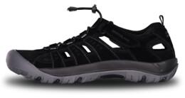 Sandale negre din piele outdoor pentru bărbați ORBIT - NBSS70