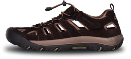 Sandale maro din piele outdoor pentru bărbați ORBIT - NBSS70