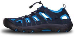 Sandale  albastre din piele outdoor pentru bărbați ORBIT - NBSS70