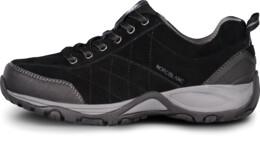 Pantofi negri din piele outdoor pentru femei MAIN LADY - NBLC81