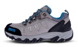 Pantofi gri din piele outdoor pentru femei ROCKY LADY - NBLC84