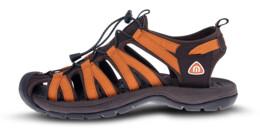 Hnedé pánske outdoorové sandále EXPLORE - NBSS91