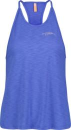 Maiou albastru de fitness pentru femei CHASTE