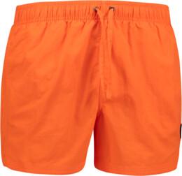 Șorturi  portocalii de înot pentru bărbați WHIRL - NBSPM6759