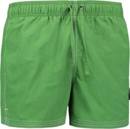 Șorturi verzi de înot pentru bărbați WHIRL - NBSPM6759