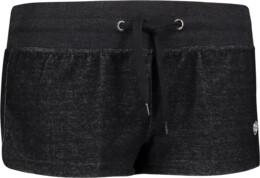 Černé dámské lehké teplákové šortky FINICKY - NBSPL6770