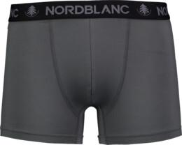 Šedé pánské boxerky DEPTH - NBSPM6865