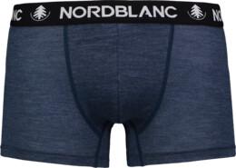 Modré pánské termo MERINO boxerky HAVEN - NBSPM6867