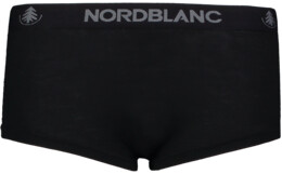 Women's black baselayer merino shorts CUDDLE - NBSPL6868