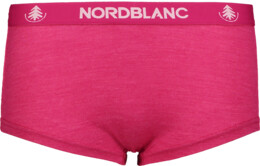 Women's pink baselayer merino shorts CUDDLE - NBSPL6868
