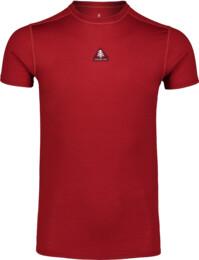 Oranžové pánské termo MERINO tričko REPONSE - NBWFM6869