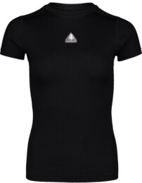 Women's black baselayer merino t-shirt RELATION - NBWFL6872