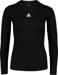 Women's black baselayer merino long sleeve UNION - NBWFL6873