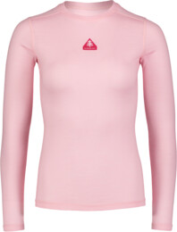 Women's pink baselayer merino long sleeve UNION - NBWFL6873