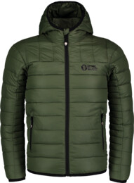 Zelená dětská zimní bunda VANQUISH - NBWJK6947S