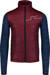 Jachetă sport bordo pentru bărbați GROOVE - NBWJM6987