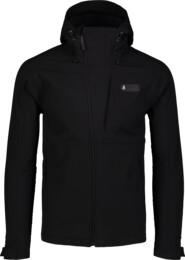 Černá pánská zateplená softshellová bunda EXCEL - NBWSM6999