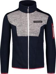 Men's blue sweater fleece HEFTY