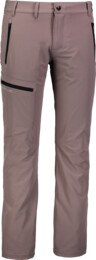 Šedé pánské zateplené outdoorové kalhoty OUTDO
