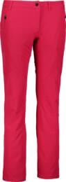 Women's pink outdoor pants with fleece WIELD