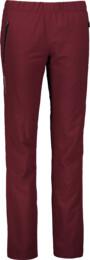 Women's wine red outdoor pants with fleece STRICT