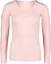 Rózsaszín női pamut póló PUNY - NBFLT7029