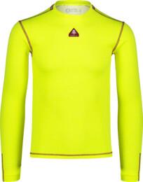 Žluté pánské celoroční termo triko NIGH - NBBMM7082