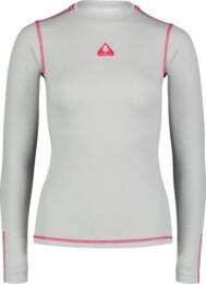 Šedé dámské celoroční termo triko PURVEY - NBBLM7093