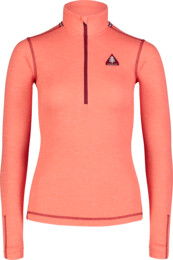 Women's red all-year baselayer top BOX - NBBLM7094