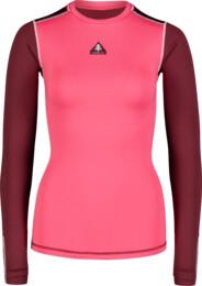 Růžové dámské zimní termo triko PLY - NBBLD7097