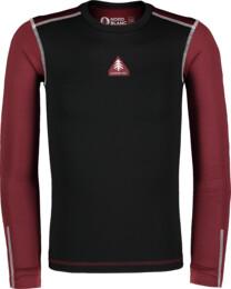 Čierne detské zimné termo tričko FLINCH - NBBKD7103L