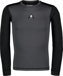 Kid's grey winter baselayer top FLINCH - NBBKD7103S