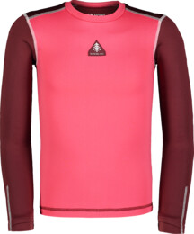 Kid's pink winter baselayer top FLINCH - NBBKD7103S