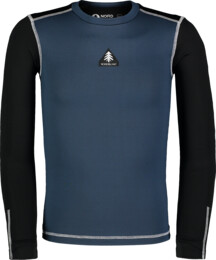 Kid's blue winter baselayer top FLINCH - NBBKD7103S