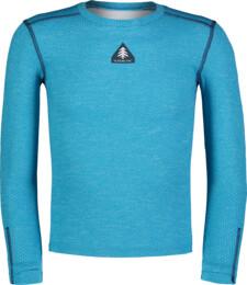 Kék gyermek egész éves termikus póló TWITCH - NBBKM7106L