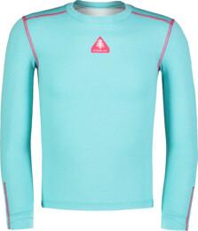 Modré dětské celoroční termo triko TWITCH - NBBKM7106L