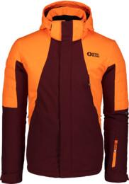 Men's wine red ski jacket SUITED