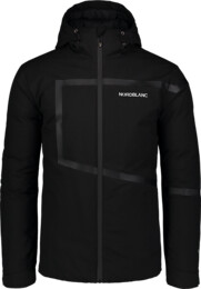 Men's black down jacket TRACE