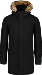 Čierny pánsky zimný kabát AVERT - NBWJM6908