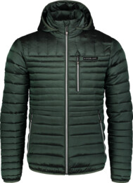 Men's green quilted jacket TRUNK - NBWJM6918