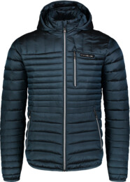 Men's blue quilted jacket TRUNK - NBWJM6918