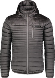 Jachetă matlasată gri pentru bărbați TRUNK
