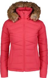 Women's pink winter jacket PUCKER